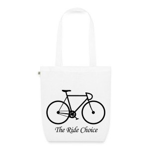 Tasche The Ride Choice organic - Bio-Stoffbeutel