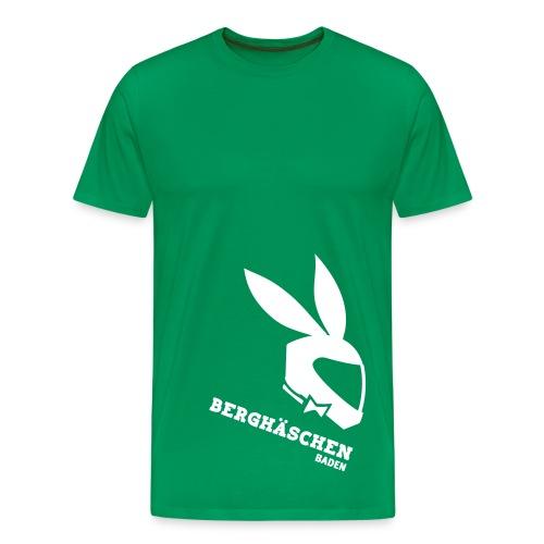 Berghäschen Weiß - Männer Premium T-Shirt