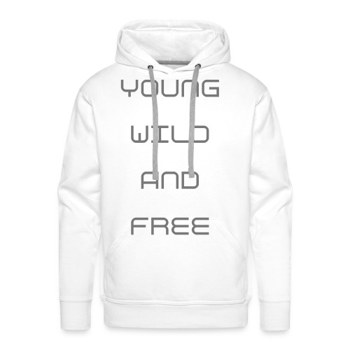PULLOVER YOUNG WILD AND FREE - Männer Premium Hoodie