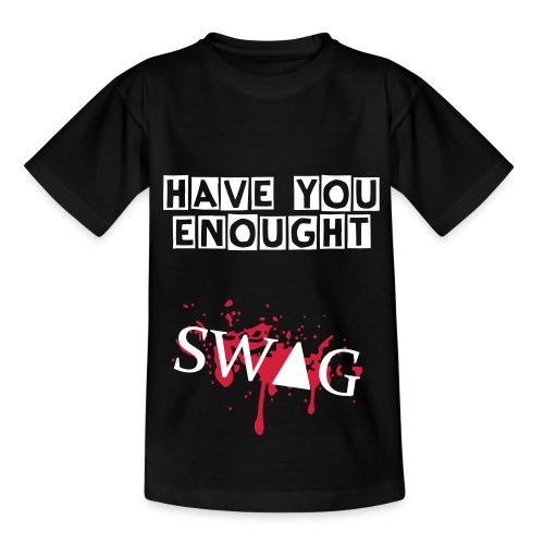 SWAG-MAN - Teenager T-Shirt