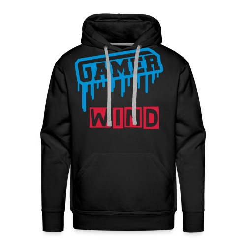 Wind are a Gamer - Sweat-shirt à capuche Premium pour hommes