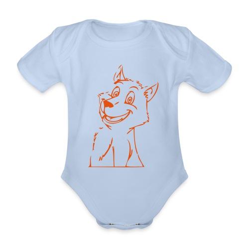 Body bébé petit loup - Body bébé bio manches courtes