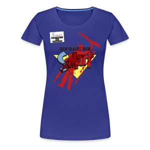 S-Mart - blood splatter (inspired by Evil Dead: Army of Darkness) - Women's Premium T-Shirt