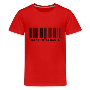MADE IN ALBANIA - Teenager Premium T-Shirt