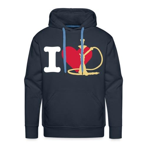 ''BestFashion'' I love shisha hoodie's! - Mannen Premium hoodie
