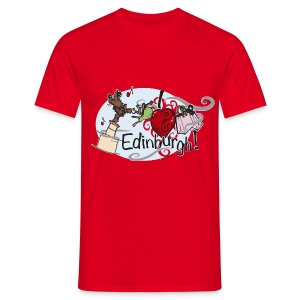 I LOVE Edinburgh - Men's T-Shirt