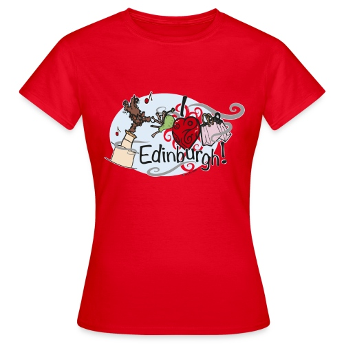 I LOVE Edinburgh - Women's T-Shirt