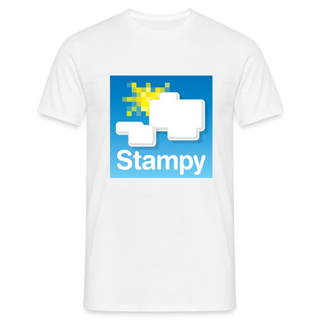 Stampy Logo - Men's T-shirt