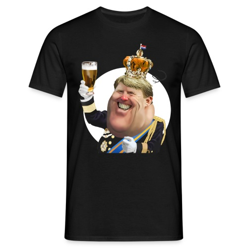 Koning Willem-Alexander T-Shirt - Mannen T-shirt