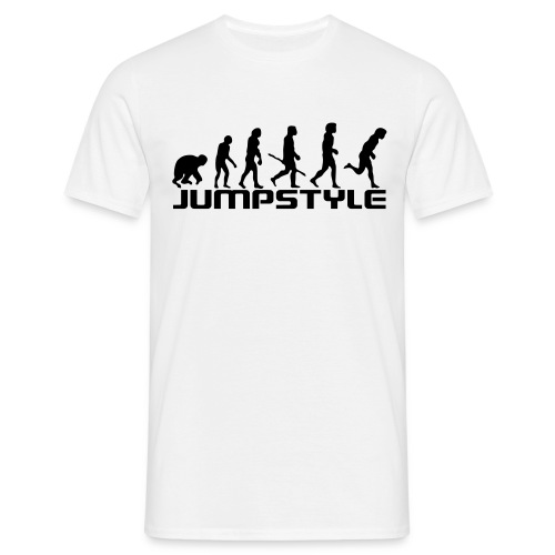 Evolution Jumpstyle (White) - T-shirt Homme