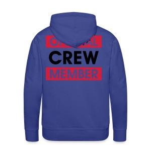Heren sweater voor crew - Mannen Premium hoodie