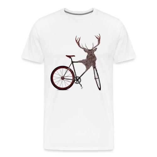 Stag Bike - Men's Premium T-Shirt