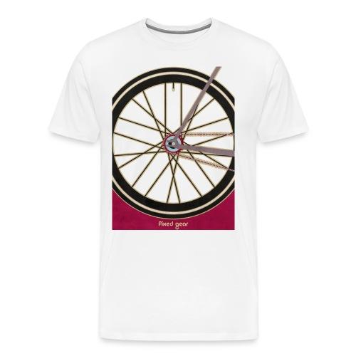 Single Speed Bicycle - Men's Premium T-Shirt