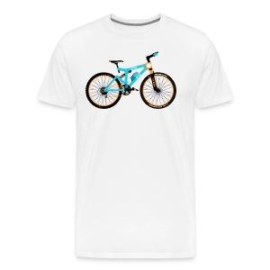 Mountain Bike - Men's Premium T-Shirt