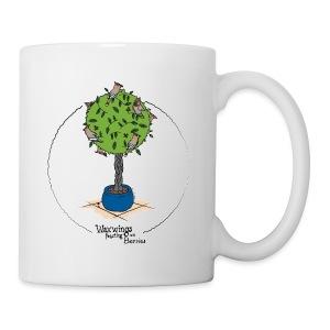 Waxwings feasting on Berries (colour) - Mug
