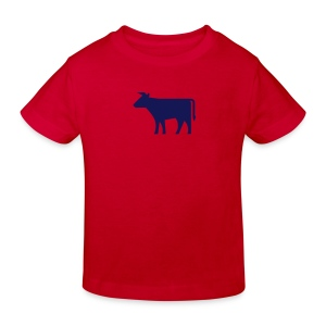 Kinder T-Shirt Kuh - Kinder Bio-T-Shirt
