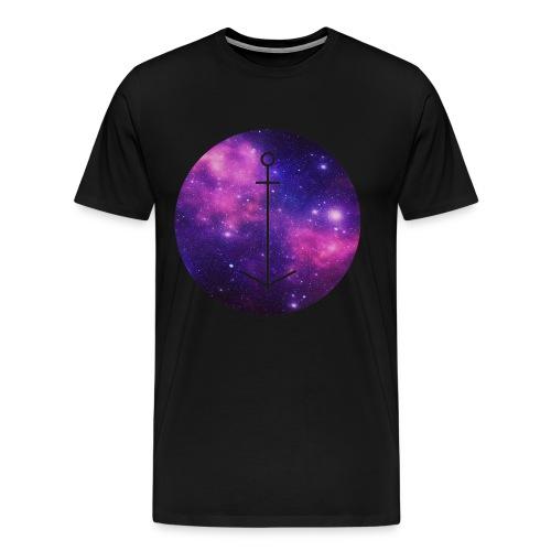 The Ball // Galaxy Anker - Männer Premium T-Shirt