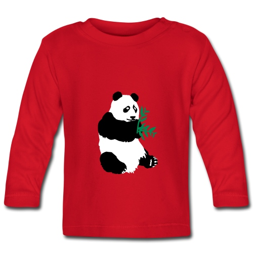 PANDA TEE SHIRT XIONG MAO - T-shirt manches longues Bébé