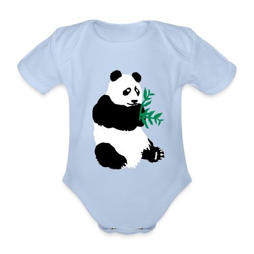 PANDA fashion XIONG MAO - Body bébé bio manches courtes