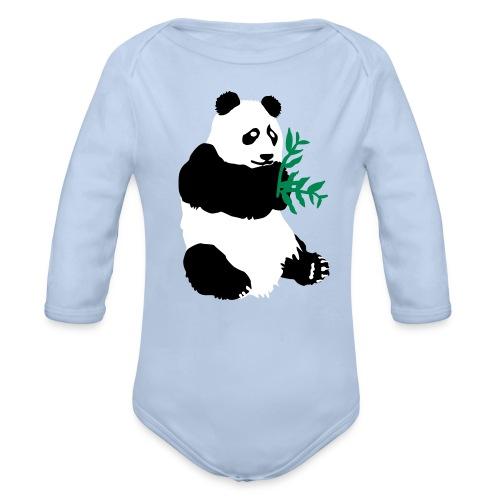PANDA Baby fashion XIONG MAO - Body bébé bio manches longues