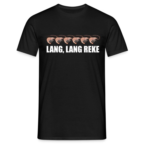 Lang, lang reke - T-skjorte for menn