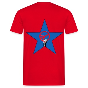 Peace star - T-shirt Homme