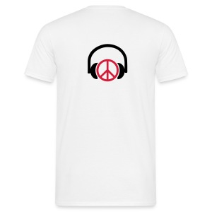 Peace music - T-shirt Homme