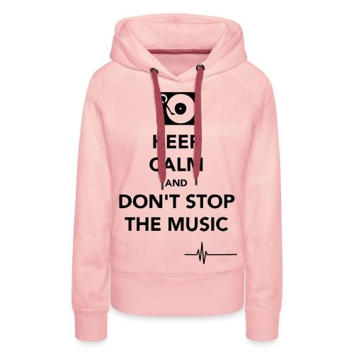 ''BestFashion'' Keep calm hoodie's! - Vrouwen Premium hoodie