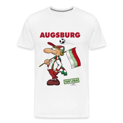 Fanshirt Augsburg - Männer Premium T-Shirt