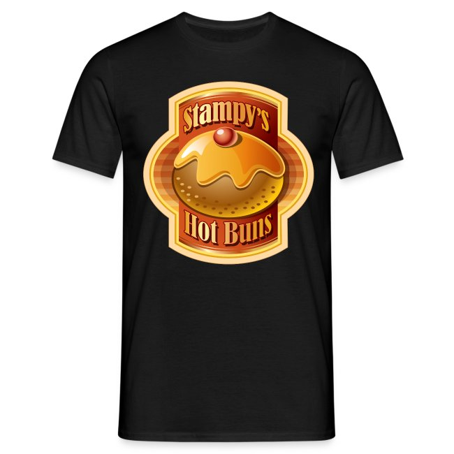 Stampy's Hot Buns - Men's T-shirt