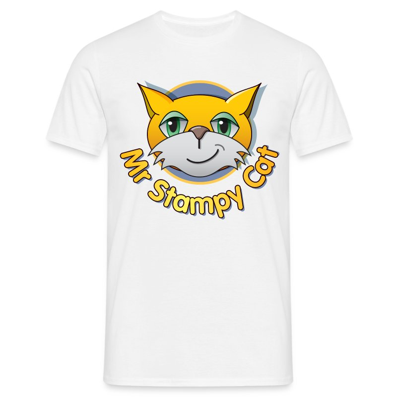 Mr. Stampy Cat - Men's T-shirt - Men's T-Shirt