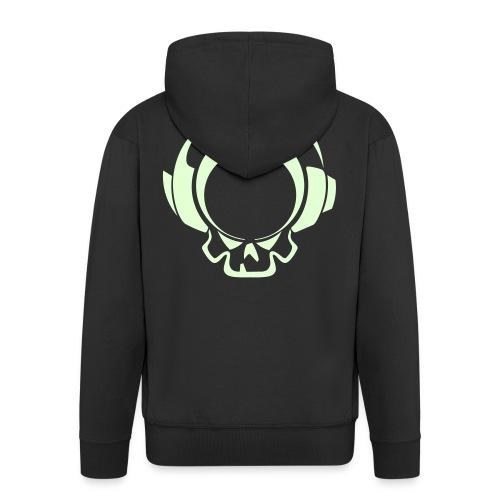 Veste à capuche avec fermeture elair - Logo Phosphorescent - Veste à capuche Premium Homme