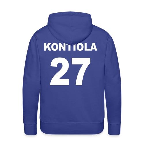 Petri Kontiola 27 huppari - Miesten premium-huppari