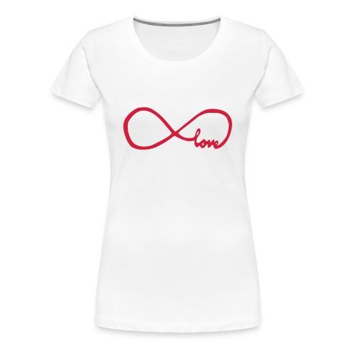 Infinity love - Frauen Premium T-Shirt