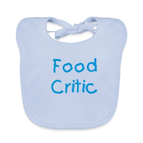 Food Critic - Baby Organic Bib