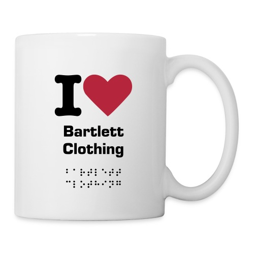 I heart Bartlett Clothing Mug - Mug