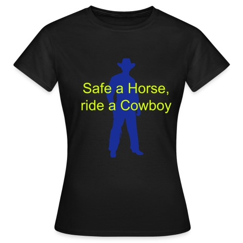 Safe a Horse - Frauen T-Shirt