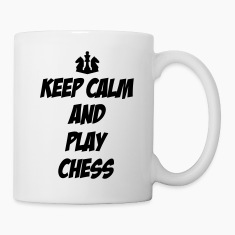 Keep Calm and Play Chess Bottles & Mugs