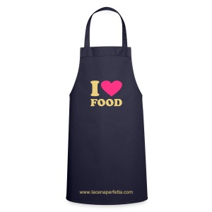 I LOVE FOOD - Grembiule da cucina