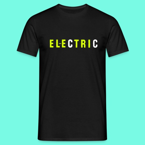 electric - Männer T-Shirt