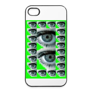 COQUE RIGIDE IPHONE 4/4 S REGARD VERT - Coque rigide iPhone 4/4s