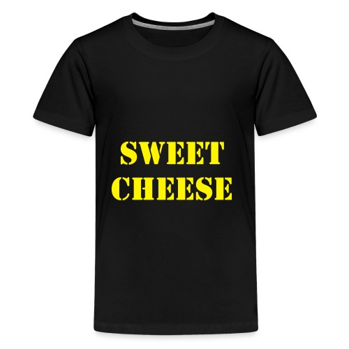 sweet cheese - Teenage Premium T-Shirt