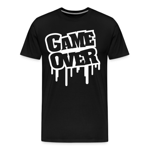 GAME OVER - Männer Premium T-Shirt