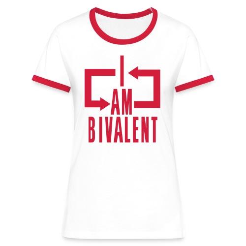Ambivalent - Frauen Kontrast-T-Shirt