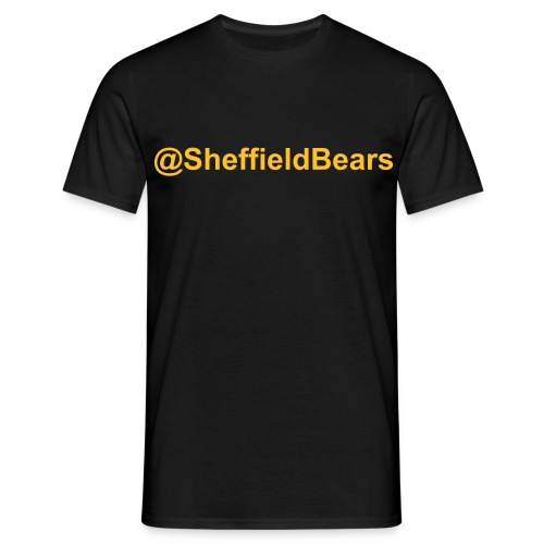 @SheffieldBears Tee (Black) - Men's T-Shirt