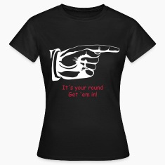 pointing finger T-Shirts