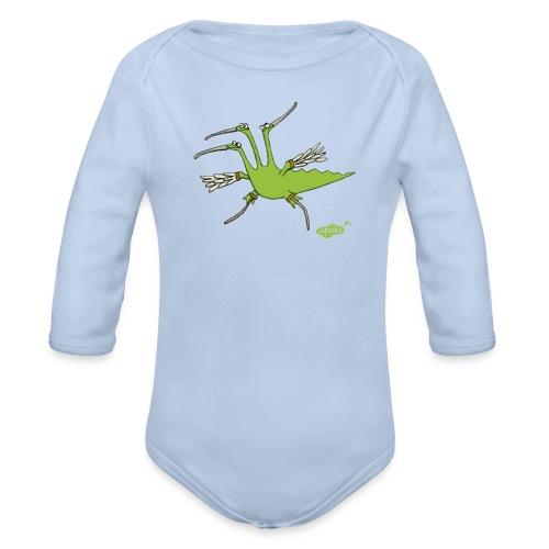 JuLiUs als Strandläufer - Baby Bio-Langarm-Body