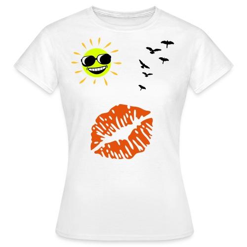 T.SHIRT BOUCHE - T-shirt Femme