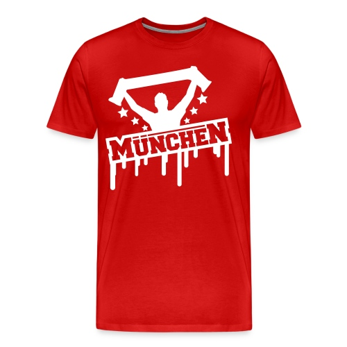 Bayern Munich Fan Football Shirt by Future Branded - Men's Premium T-Shirt
