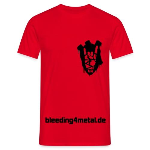 B4M-Shirt, rot - Männer T-Shirt